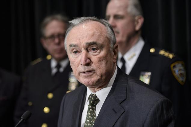 'We have a significant population gap among African-American males because so many of them have spent time in jail and, as such, we can't hire them,' Police Commissioner Bill Bratton said in an interview.