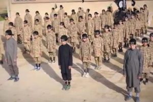 ISIS child training camp