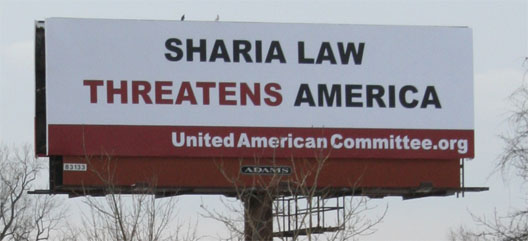 Sharia-law-Billboard