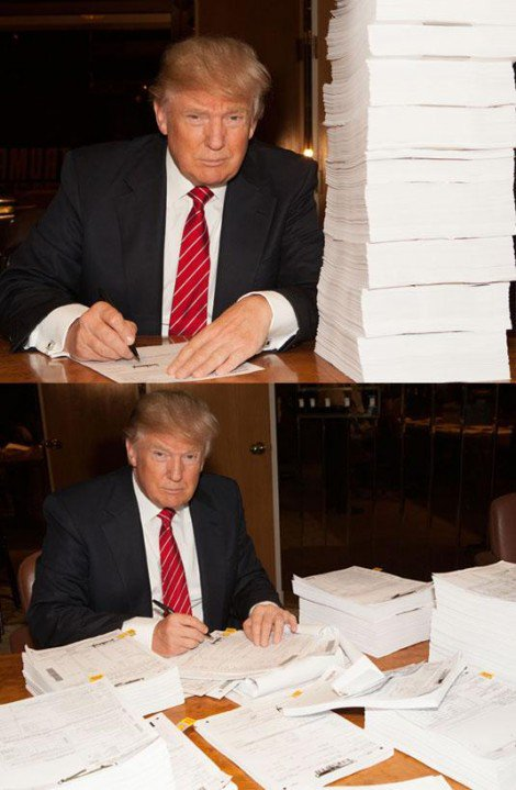 Trump tax return
