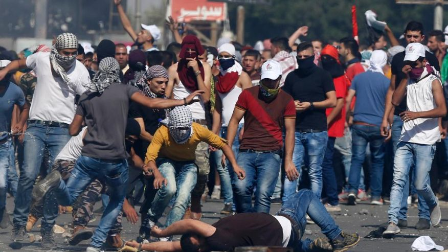 Violent Palestinian youth