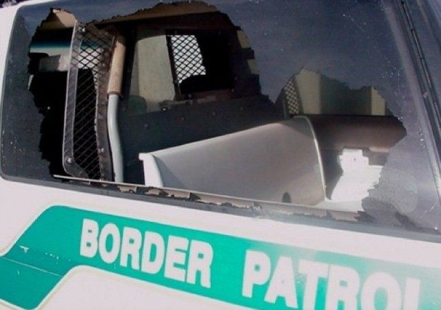 Border Patrol Rock Attack