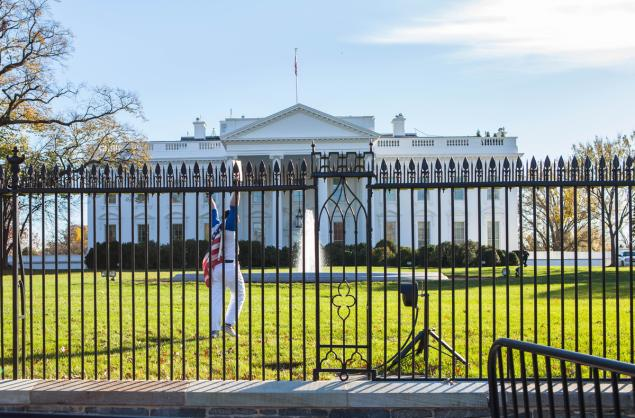 Joseph Caputo was arrested after jumping the fence at the White House and running onto the North Lawn while the President and his family were inside celebrating Thanksgiving.