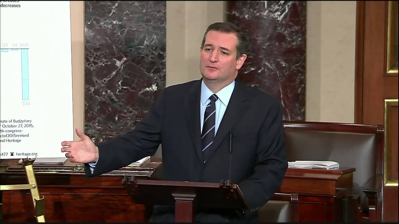 Ted Cruz: Budget Deal Is a Corrupt Betrayal of the American People