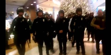 Black THUGS Don't Matter: Minnesota Police Rout Protesters at Mall of America, Airport
