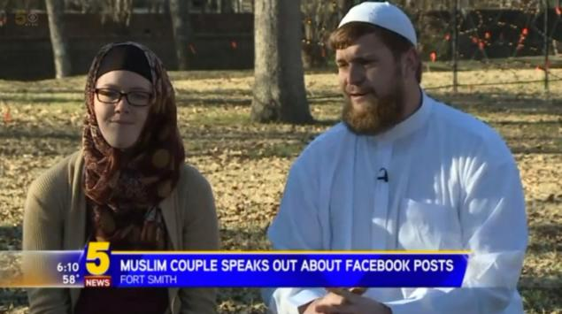 Alan and Daphne Crawford say they were booted from an Arkansas mall on Saturday even though they were merely shopping.