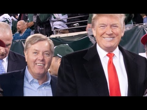 RINO Lindsey Graham Unhinged… Physically Threatens Donald Trump?