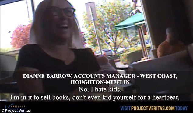 'I HATE KIDS': A sales manager for one of the nation's largest school textbook publishers admitted on hidden camera that Common Core represents a windfall for her: 'I'm in it to sell books'