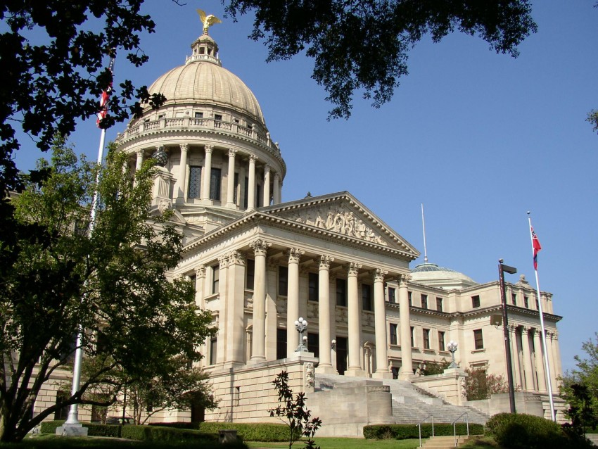 Mississippi capitol building free use