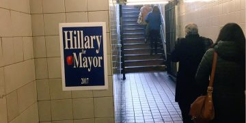 Hillary-for-Mayor-station