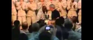 Watch What This Group of Marines Does When Obama Walks In...