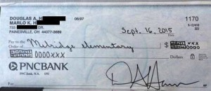 This Dad Wrote A Check To His Kid's School Using Common Core Math