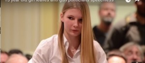 VIDEO: Obama Thought He Could Take This 15-Year-Old's Gun, She Makes A Complete Fool Out Of Him