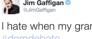 Jim Gaffigan has By Far The Funniest Tweet During the Democrat Debate