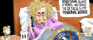 Nightmare – It's a President Hillary Clinton 3am phone call| Political Cartoon
