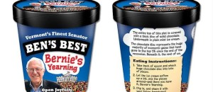 Ben & Jerry's co-founder unveils 'Bernie's Yearning' ice cream flavor