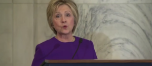 Hillary blames 'epidemic' of fake news for electoral loss