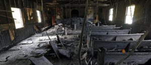 Black Man Burned African-American Church, Painted 'Vote Trump' On The Walls