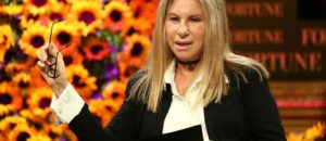 'Bulging' Barbra Streisand says Trump makes her gain weight