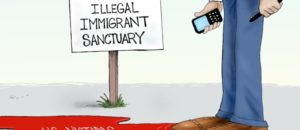 Sanctuary Cities | Political Cartoon | Comically Incorrect